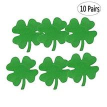BinaryABC St.Patrick's Day Shamrock Nipple Covers Breast Pasties,St Patricks Day