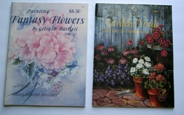 Lot of 2 Painting Books Susan Scheewe Presents - Flowers, Landscapes & A... - $19.34