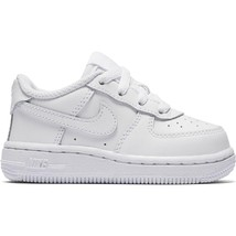 Nike Air Air force 1 Low 314194-117 White Leather Toddler Shoes - $44.95