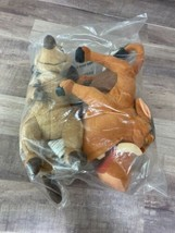 Lion King Plush Timon & Pumbaa - 2 pack bundle -small Plush - $11.65