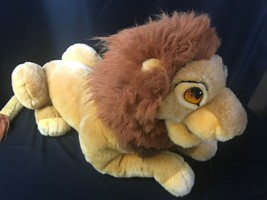 "Full Size 22"" Disney The Lion King Large Plush Adult Simba Mufasa Hand P... - $24.74"