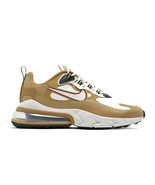 Nike Men's Air Max 270 React Brown/White AO4971-700 - $128.28