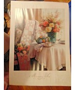 Print Morning Tea Sercon 1999-Portal Publications-Quilt-Flowers-Cup/Sauc... - $7.99