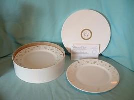 "PAMPERED CHEF Christmas Holiday STARS 8"" Dessert Pie Salad Plates 1996 -... - $31.99"