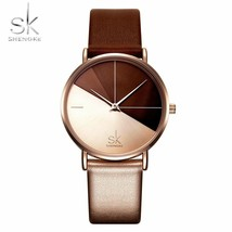 SK® Women Watch Women's Watches Fashion Leather Wrist Watch Vintage Ladi... - $19.42+