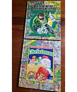 Look And Find Books x 2--Night Before Christmas & Green Lantern--Hardcover - $9.50