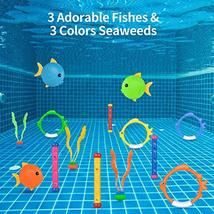 Kiztoys 8pcs Pool Toy , Summer Underwater Swimming Toys for Girls and Boys image 5