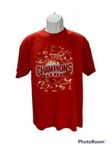 MLB St. Luis Cardinals 2011 world champions t shirt mens size L - $15.79