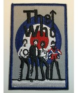 """The Who Patch~Embroidered Applique~3"""" x 2""""~Rock~Iron Sew~FREE US Mail~US Seller - $3.95"""