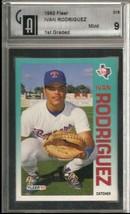1992 Fleer #316 Ivan Rodriguez GAI 9 MINT  - $12.80