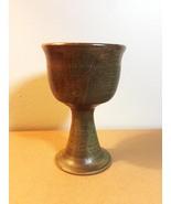Artisan Pottery: Red Stoneware Vase with Black Line Design (JD01) - $22.00