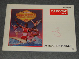 Nintendo NES: Capcom's Gold Medal Challenge '92 [Instruction Book Manual ONLY] - $10.00