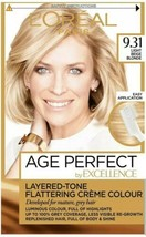 L'oreal Age Perfect Light Beige Blonde Permanent Colour Dye For Mature Grey Hair - $18.65