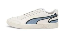 Puma Men's  Ralph Sampson Lo Hoops NEW AUTHENTIC White/Blue 37096401 - $71.49