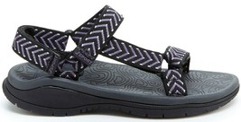 NWT JSPORT BY JAMBU Navajo Women's Sandals BLACK/PURPLE SIZE: 7.5 - £24.04 GBP