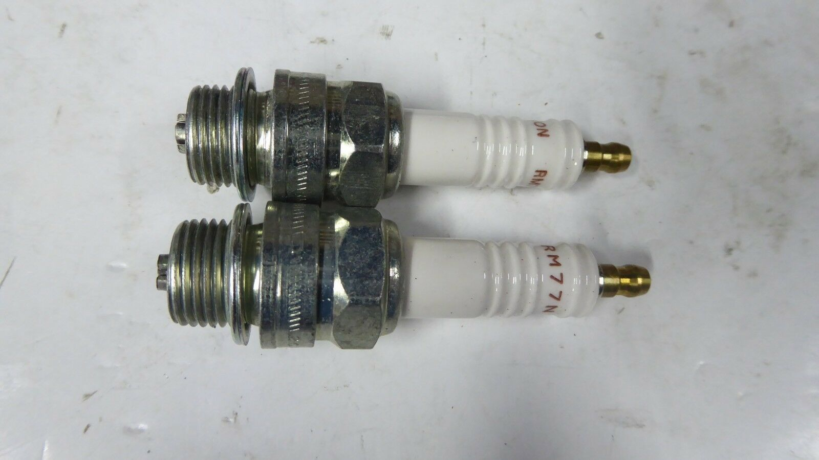 2 Champion RM77N Industrial Spark Plugs