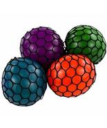 Rhode Island Novelty 3 Inch Mesh Squishy Balls, Pack of 12 - $16.97