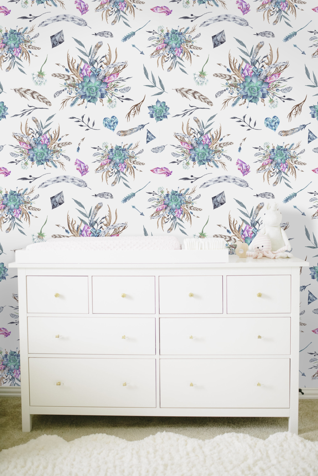 Subtle Boho Removable Wallpaper For And Similar Items