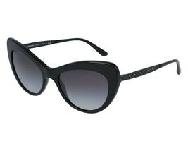NEW DOLCE & GABBANA MAMBO Sunglasses DG4307B 2525/8G Black Grey Gradient  - $229.08