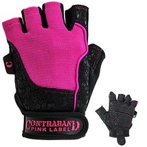 Contraband Pink Label 5127 Womens Vegan Weight Lifting Gloves (X-Small|P... - $24.09