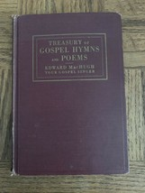 Treasury Of Gospel Hymns And Poems Sheet Music Book - $87.88