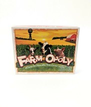 Educational Farm-Opoly by Late for the Sky  Family Fun Board Game Farm A... - $16.44