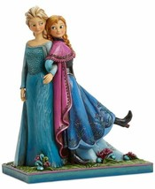 """Disney Parks Anna and Elsa """"Sisters Forever"""" Figure by Jim Shore NWOB - $84.10"""