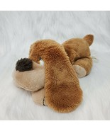 "15"" Russ Berrie Samuel Puppy Dog Brown Plush Stuffed Vintage B350 - $29.99"