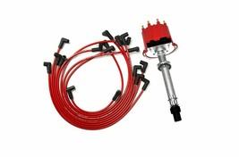 SBC BBC EFI TBI Distributor & Spark Plug Wire For GMC CHEVY Pick-up 87-97 Camaro image 1