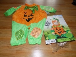 Infant Size 0-6 Months In Character Lil' Pumpkin Patch Halloween Costume... - €17,72 EUR