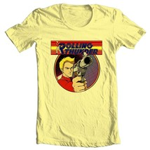 Rolling thunder t shirt retro 1980 s arcade video game vintage graphic yellow tee thumb200