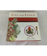 Fitz and Floyd Winter Claus Snack Plate with Spreader 2015 - $7.15