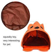 Pet Cat Toys Cute Mouse Tunnels Orange Color Tent Easy House For Small Dog Beds image 5