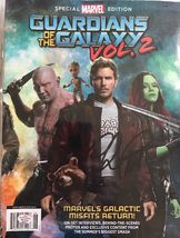 Chris Pratt Guardians of the Galaxy 2 Magazine Marvel Signed Autographed... - $99.95