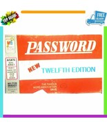1970's Vintage Board Game Lot Ad-Lib Games of Words Password 12th Editio... - $14.38