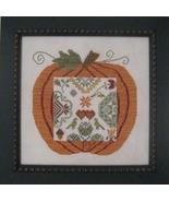 Great Pumpkin Quaker cross stitch chart Sampler... - $14.40