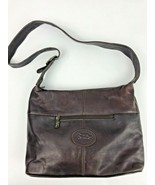 American Angel Genuine Brown Leather handbag Purse Shoulder Bag - $29.69