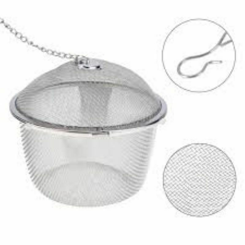 Arshen Tea Infusers Chained Lid Stainless Steel Mesh Ball Filter Strainer Tools image 9