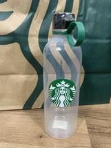 Starbucks Water Bottle Clear Plastic 24oz BPA Free Sealed FREE SHIP - $14.84