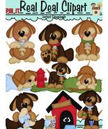 Dogs Life Clip Art - $1.25