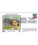BROOKLYN DODGERS HARRY TAYLOR JACKIE ROBINSON STADIUM BROOKLYN Y 4/15/97... - $2.98