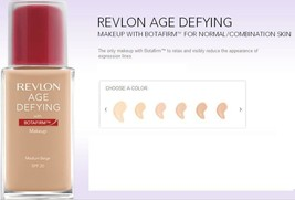 BUY1GET 1 @ 20% OFF(Add 2) Revlon Age Defying Makeup W/ Botafirm  All Sk... - $8.56