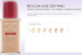 BUY1GET 1 @ 20% OFF(Add 2) Revlon Age Defying Makeup W/ Botafirm  All Skin Types - $8.56