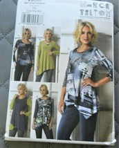 Pattern Vogue Designer Tunic Top March Tilton V9057 Uncut Factory Folded - $14.35