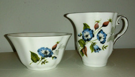 Royal Grafton Fine Bone China Creamer & Open Sugar Bowl, Made in England - $14.85