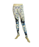 Philipp Plein Multicolor Diamonsds Leggings Elastic Viscose trousers pan... - $147.51