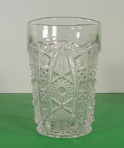 Imperial Vintage Glass DAISY AND BUTTON Water Pitcher Set with 7 Tumbler (s) image 10