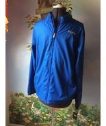 Mitre Men's Soccer Wind Breaker Light Wight Track Jacket Blue Size Small... - $39.55