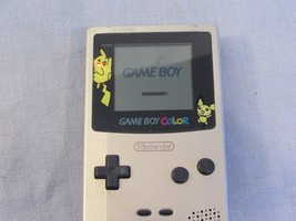 Nintendo Game Boy Color Pokemon Edition System Pikachu Power Tested - $44.58