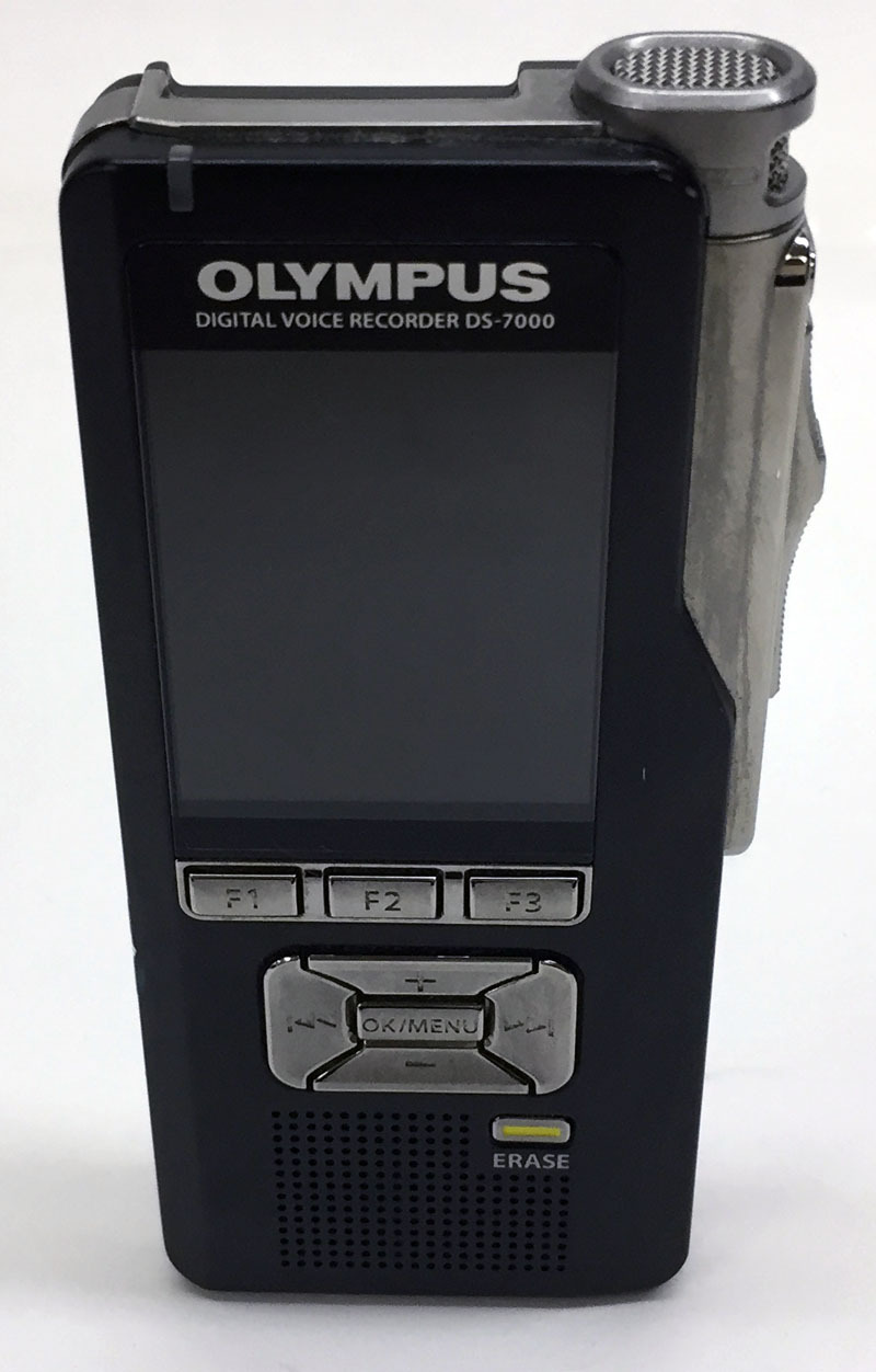 Olympus Digital Voice Recorder DS-7000 without Battery